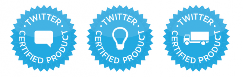twitter certified products
