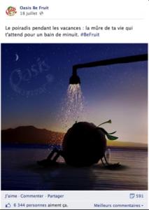 Message de vacances du CM Oasis