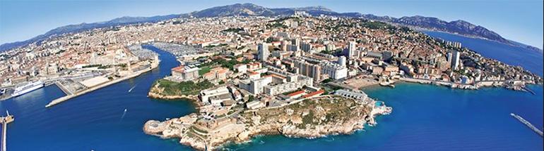 Marseille sur les réseaux sociaux
