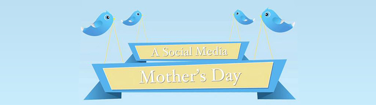 Application social media pour la fete des mères