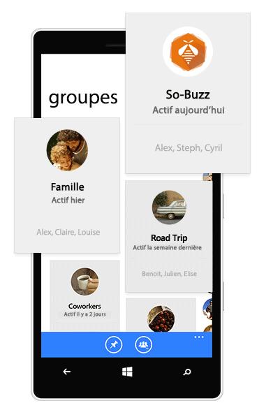 Discussion privée dans des groupes Facebook
