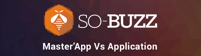 Master'App Vs Application classique