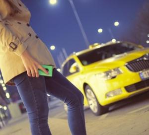 Commande d'un taxi par smartphone