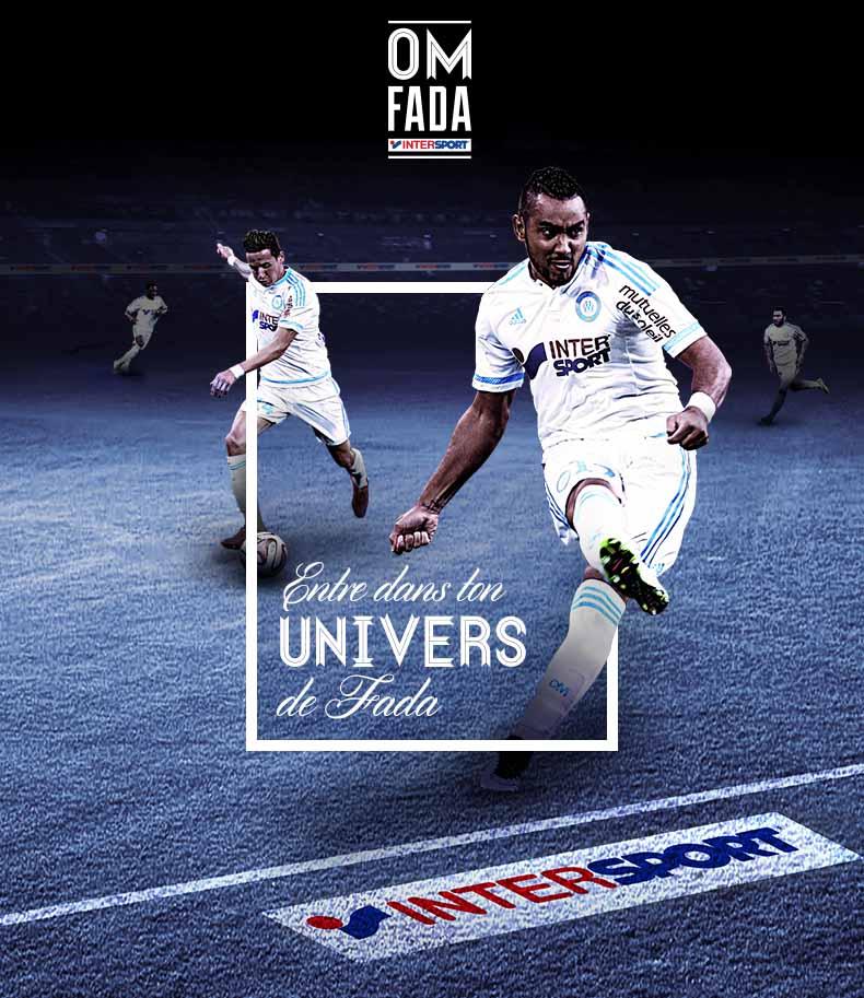 Application Facebook pour intersport et OM fada
