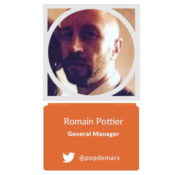 Romain Pottier general manager Sergio Tacchini