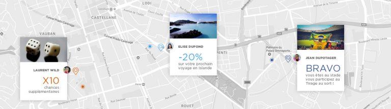 Géolocalisation intégrée dans vos opérations Social Media Marketing