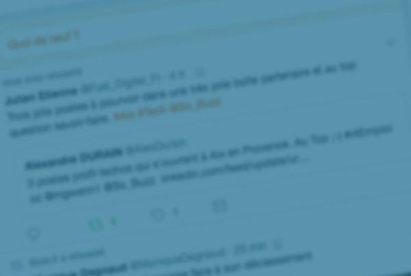 La timeline Facebook et Twitter, lieu d'engagement des sociaunautes