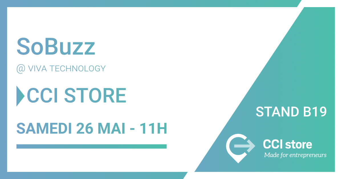 So-Buzz pitche le 26 mai sur le salon Viva Tech