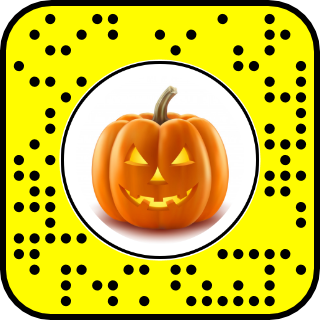 Snapcode filtre halloween