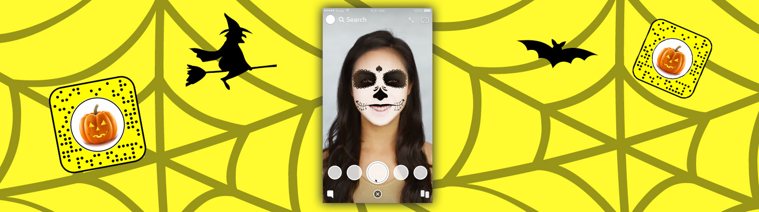 Comment un filtre Snapchat pour Halloween devient viral en quelques jours
